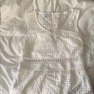white bebe shirt